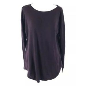 Roots Canada Womens Sweater Wool Blend Long Tunic